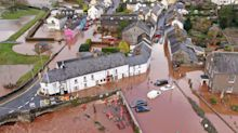 Storm Dennis: Remarkable drone pictures show flooding devastation