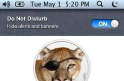 OS X Mountain Lion Preview updated with Do Not Disturb feature