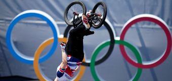 BMX gold for Team GB after sensational backflip