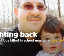 Father of a Sandy Hook victim has won a defamation lawsuit