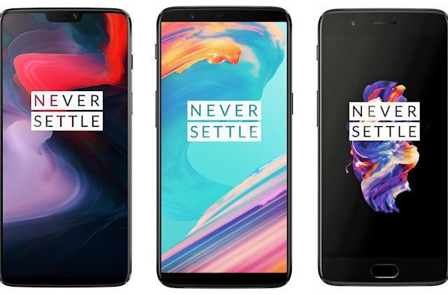 The OnePlus 6 vs. the OnePlus 5T and OnePlus 5: What's changed?