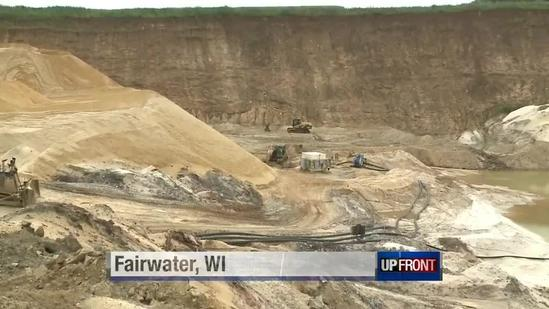 Wisconsin's sand mining boom