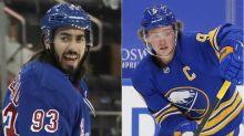 Rangers' Mika Zibanejad-Jack Eichel conundrum may get awkward
