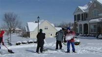 Students Shovel Snow To Help Ill Teacher