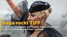 Lady Gaga verwandelt TIFF in One-Woman-Show