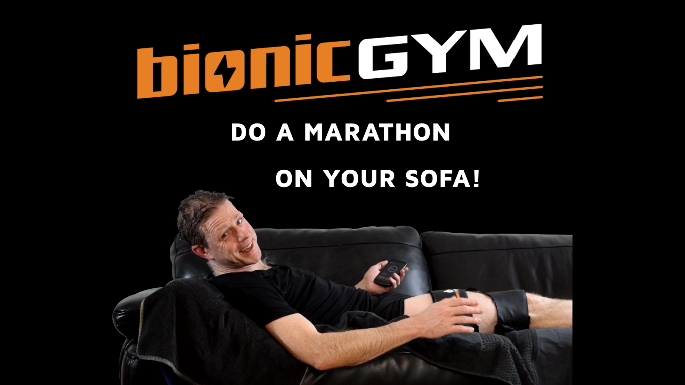 This machine makes you work out by shivering on your couch