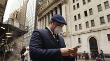 Borsa Usa, S&P 500, Dow scivolano, timori virus bilanciano risultati tech