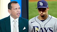 Alex Rodriguez blamed the Rays' World Series meltdown on 'computers running the game' and prompting the decision to pull Blake Snell