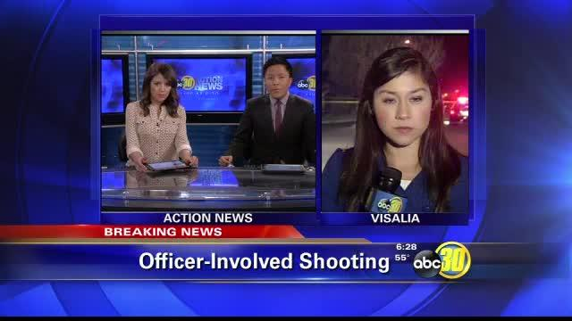 Officer-involved shooting in Visalia near Crenshaw and Westgate