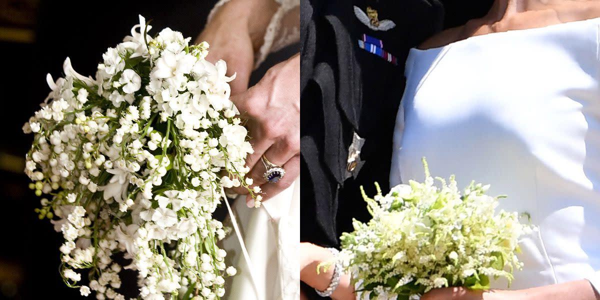 Доставка цветов, свадебные букеты королевских свадеб