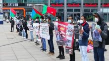 Baloch in Germany hold protest in solidarity with families of missing persons