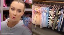 """Ana Paula Siebert mostra closet de Vicky: """"Um dos meus lugares favoritos"""""""