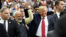 """Trump beside him, Modi says it loud and clear without saying it: """"Behave yourself, Pakistan"""""""