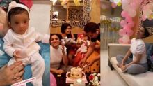 Ankita Lokhande celebrates Vicky Jain's niece & nephew's birthday