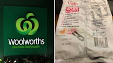 Woolworths customer finds strange 'metal object' in snack packet