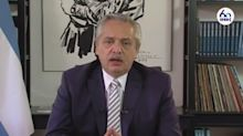 IDEA. Qué dijo Alberto Fernández sobre los rumores de corralito y una posible devaluación
