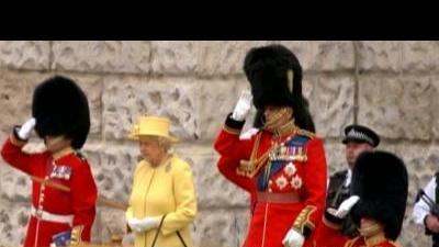 Queen celebrates birthday with Trooping the Colour