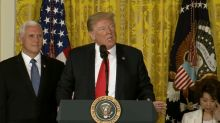 Trump blames Democrats for child separation at border