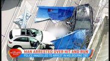 Suspect arrested over fatal Melbourne hit-run