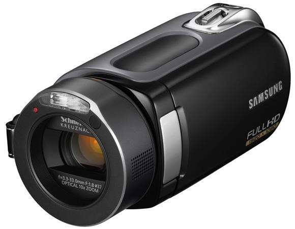 Samsung debuts H-Series of HD camcorders, first with 64GB SSD