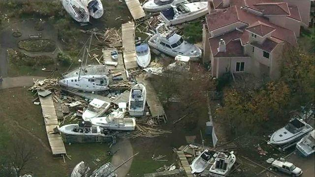 Staten Island residents plead for help 3 days after storm