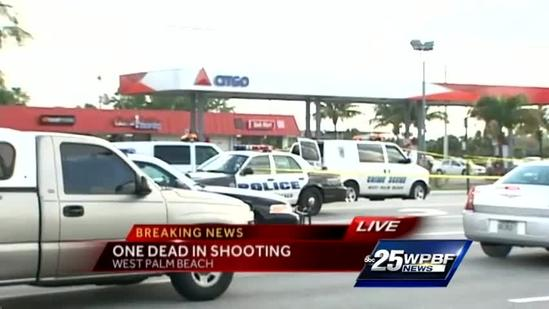 West Palm Beach police searching for a killer