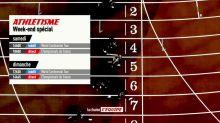 ATHLETISME - WEEK END ATHLETISME : Championnats de Frances élite à Albi  3 meetings du WCT