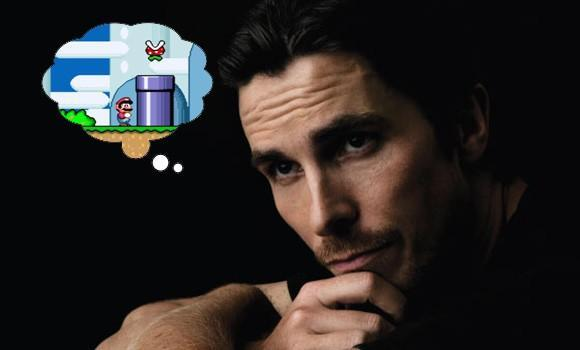 Christian Bale loves video games, lost sleep over Super Mario