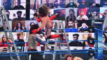 WWE Smackdown Results: Sami Zayn Registers Win in Triple Threat Match against AJ Styles and Jeff Hardy