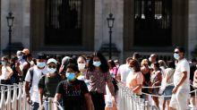 Los casos de COVID-19 en Francia se ubican en máximos de cuatro meses