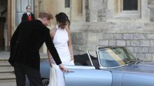 Royal Wedding: The one-of-a kind electric Jaguar Harry and Meghan drove to their after-party