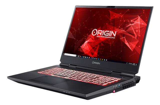 Origin PC's refreshed EON17-X laptop has a high-end Intel desktop chip