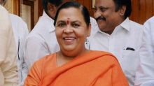 Lord Shiva Took 'Demon' Vikas Dubey's Life, Says BJP Leader Uma Bharti