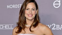 'The happiest pair of sneakers': Jennifer Garner's $185 rainbow sneakers are beloved by shoppers