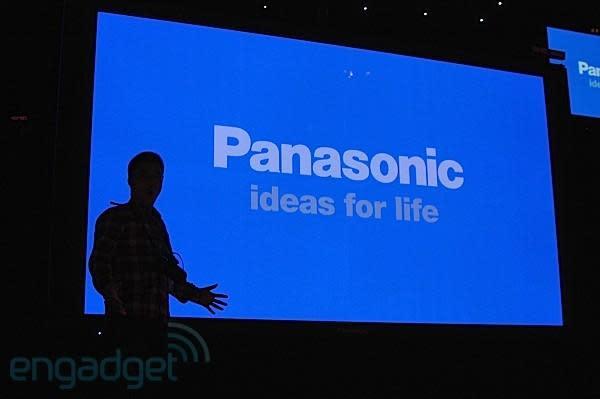 Panasonic's 152-inch 4K-resolution 3D plasma ships this fall