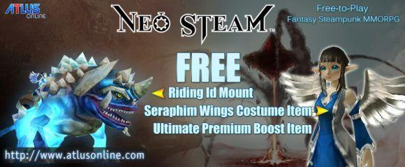 Massively's Neo Steam free item pack giveaway