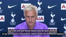 Foot - ANG -Tottenham : Mourinho : «Le dernier match de la saison va être difficile»