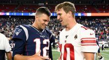Eli Manning Pokes Fun At Tom Brady With Super Bowl Dad Joke