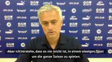 Mourinho froh über die Europa League