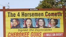 Gun shop's billboard targeting Democratic congresswomen sparks outcry: 'Racist'