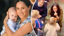 Proud mum Meghan reveals baby Archie's major milestone