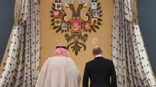Saudi king, Putin clinch billion-dollar energy, arms deals on landmark Russia visit