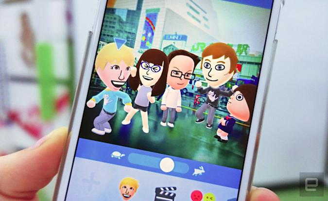 Nintendo's 'Miitomo' reportedly has over 4 million users