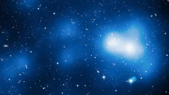 Giant Strand of Elusive Dark Matter Seen in 3D