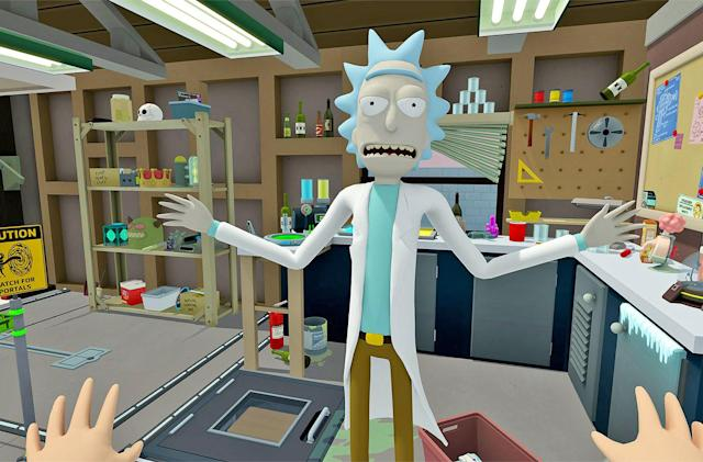 'Rick and Morty' enter the VR video game universe on April 20th