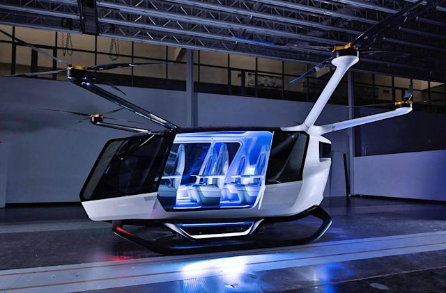 Skai could be the first fuel cell-powered flying taxi