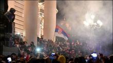 Erneut Ausschreitungen bei Corona-Protest in Belgrad