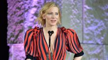 """Cate Blanchett: """"Just Because Women Dress Sexy Doesn't Mean We Want to Eff You"""""""
