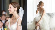 陳凱琳夢幻新娘look 婚紗戒指鞋履品牌總整理