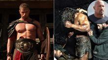 'Hercules' Hunk-Off: Kellan Lutz vs. Dwayne Johnson as Dueling Demigods
